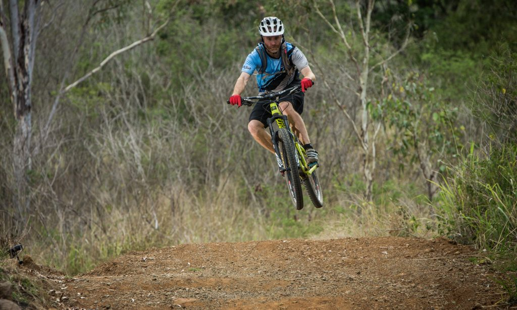 Rockhampton Mountain Bike Club race