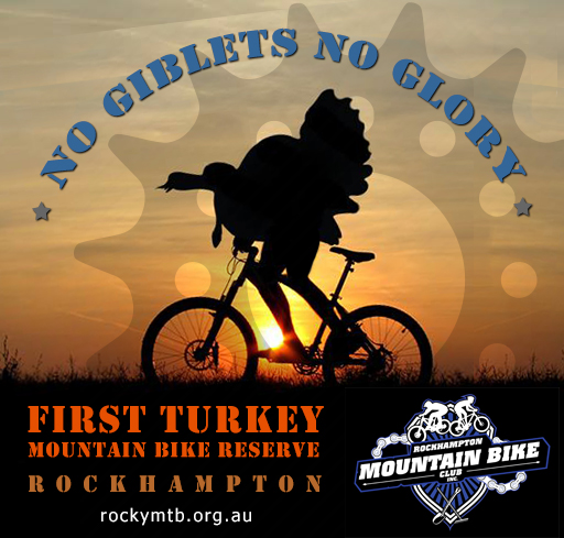 First Turkey Mountain Bike Reserve Rockhampton logo
