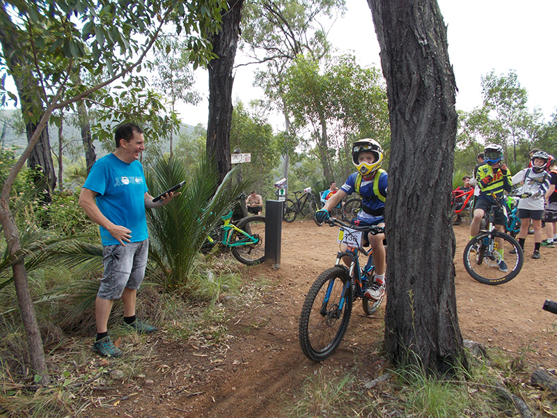 Turkey's Nest hub at First Turkey MTB Reserve, Rockhampton