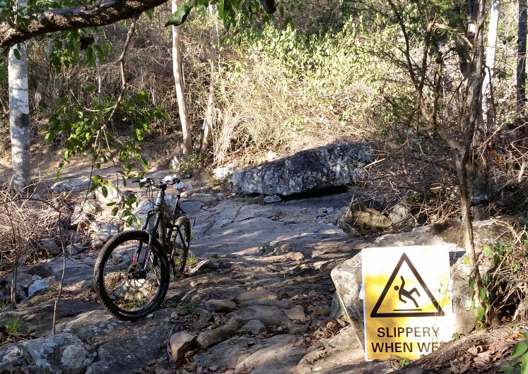 Whitey MTB trail at First Turkey, Rockhampton