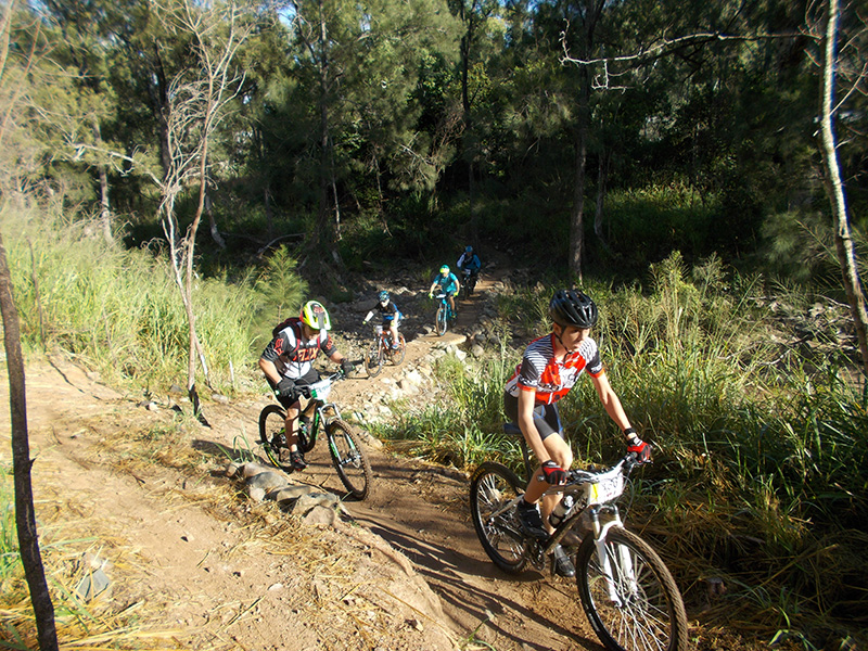 Zara's Crossing at First Turkey MTB park, Rockhampton